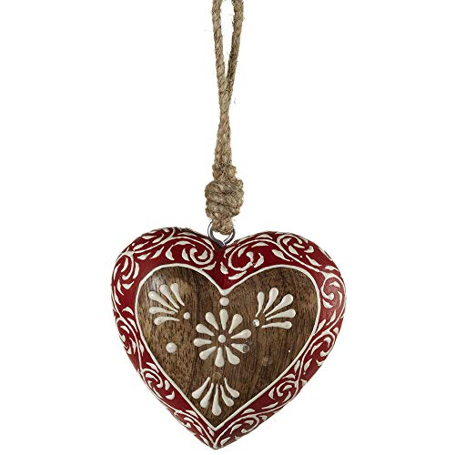 Midwest-CBK 143170 Flower Heart Ornament