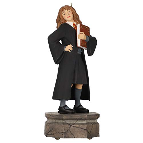Hallmark Keepsake Christmas 2019 Year Dated Harry Potter Collection Hermione Granger Ornament with Light and Sound