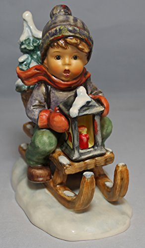 Hummel Goebel #396 Ride Into Christmas Figurine