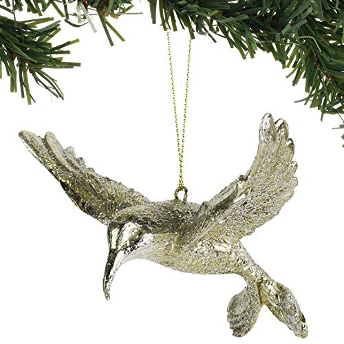 Department 56 Magnolia Garden Hummingbird Hanging Ornament, 2.75 Inch, Multicolor