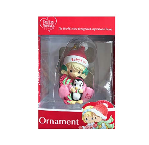 Precious Moments Ornament – Baby's 1st (2019)