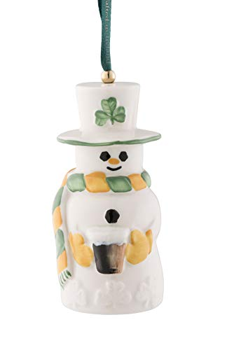 Belleek Paddy Snowman Ornament (New for 2020)