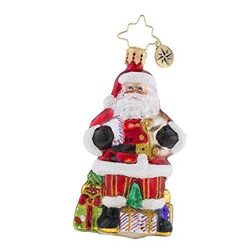 Christopher Radko Checking It Twice Little Gem Christmas Ornament