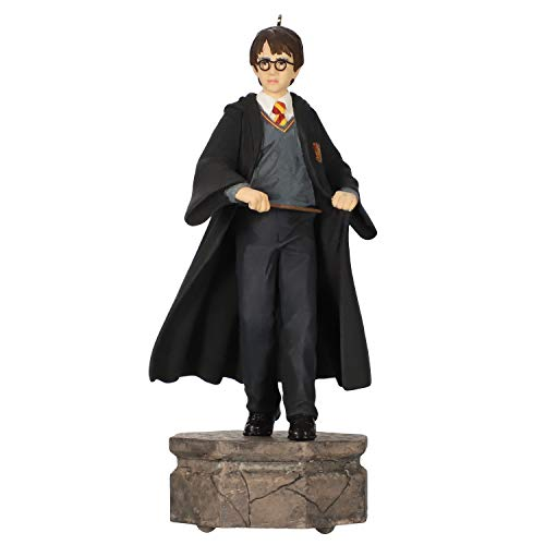 Hallmark Keepsake Christmas Ornament 2019 Year Dated Harry Potter Collection Light and Sound