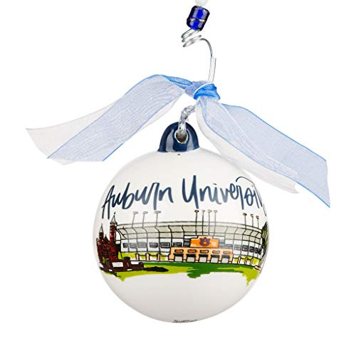 Glory Haus Auburn Landmark Ball Ornament
