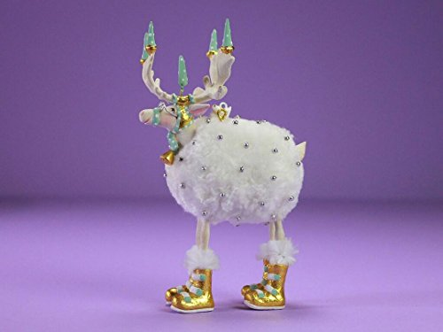 Patience Brewster Moonbeam Blitzen Reindeer Ornament