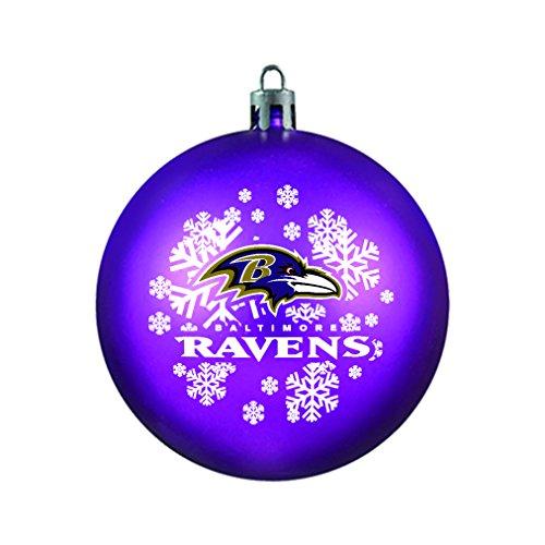 NFL Baltimore Ravens Shatterproof Ball Ornament
