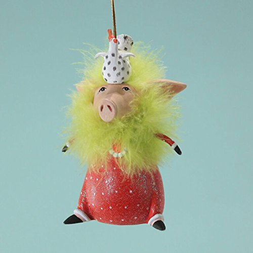 Patience Brewster Phyllis Pig Ornament 31080