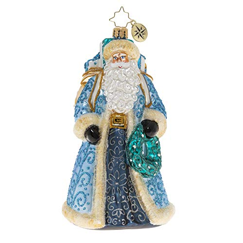 Christopher Radko Hand-Crafted European Glass Christmas Ornament, I'll Have A Blue Christmas