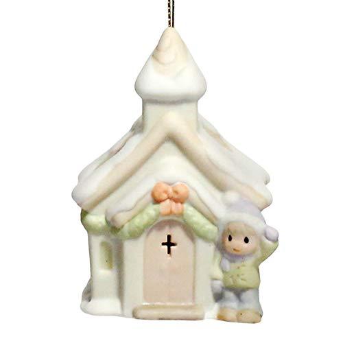 "Precious Moments ""Chapel"" Lighted Ornament"