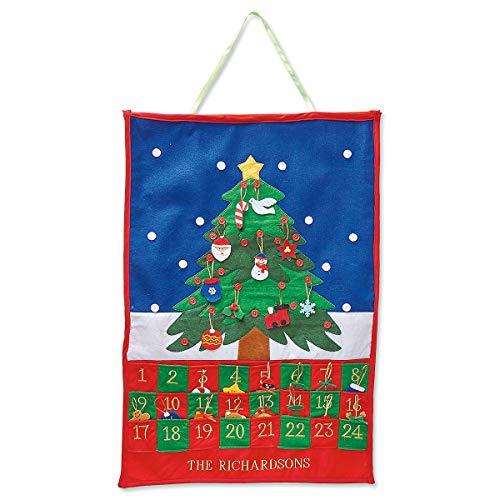 Lillian Vernon Christmas Tree Personalized Countdown Calendar