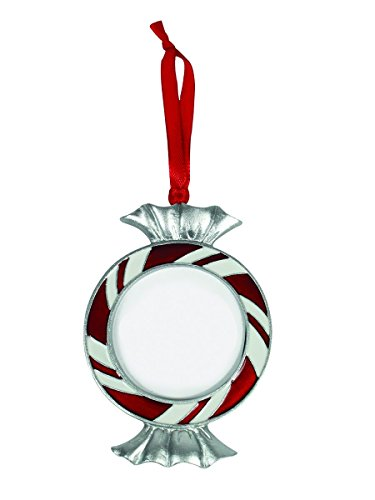 Midwest-CBK Christmas Ornament – Picture Frame – Peppermint