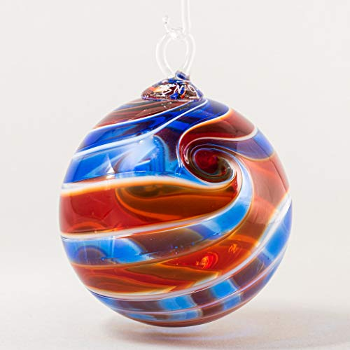 Glass Eye Studio 2020 Limited Edition Patriotic Ball Ornament