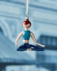 De Carlini Lucy Sitting Yoga Ornament, Limited Edition