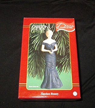 "Diana Princess of Wales ""Timeless Beauty"" Ornament"