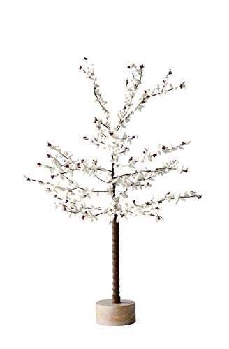 Creative Co-Op 28 Inch Metal Tree with Felt Leaves