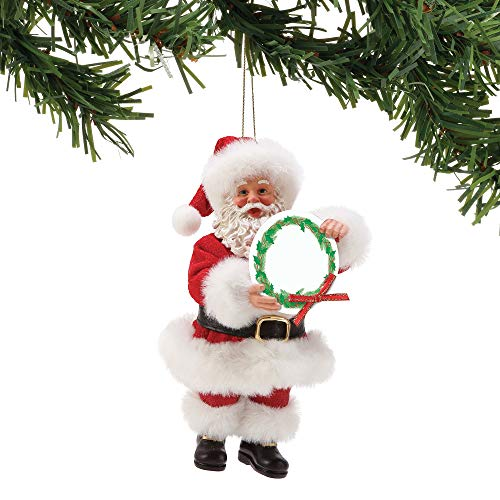 Department 56 A Message from Santa Hanging Ornament 6 Inches Multicolor