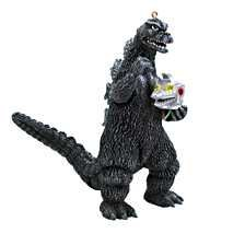 GODZILLA HOLDING HEAD 2008 CARLTON HEIRLOOM ORNAMENT