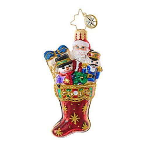 Christopher Radko No Coal Here Little Gem Christmas Ornament