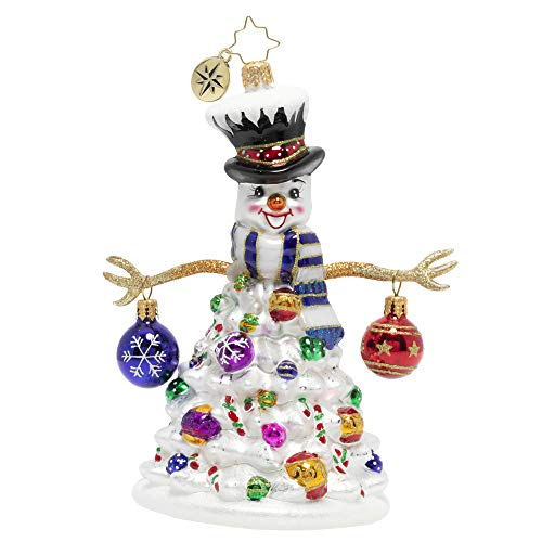 Christopher Radko Hand-Crafted European Glass Christmas Ornament, Quite A Lively Tree