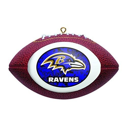 Boelter Brands NFL Baltimore Ravens Replica Football Ornament
