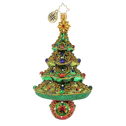 Christopher Radko Hand-Crafted European Glass Christmas Ornament, A Tree to Dazzle