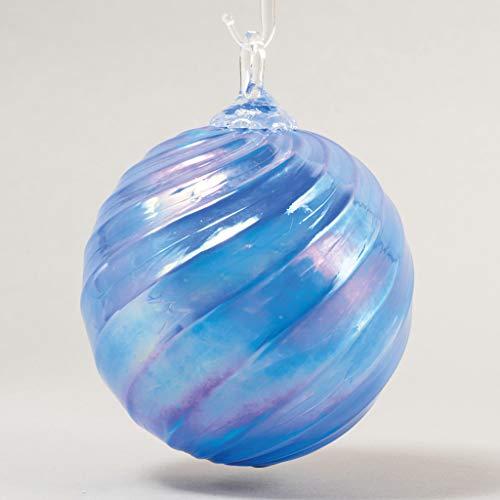 Glass Eye Studio Classic Ball Ornament Adrift Twist