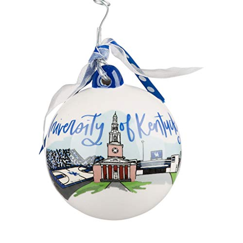 Glory Haus University of Kentucky Landmark Ball Ornament