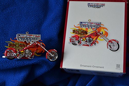 Carlton Heirloom ornament American Chopper Fire Bike