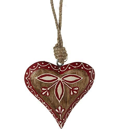 Midwest-CBK 143175 Pattern Heart Ornament