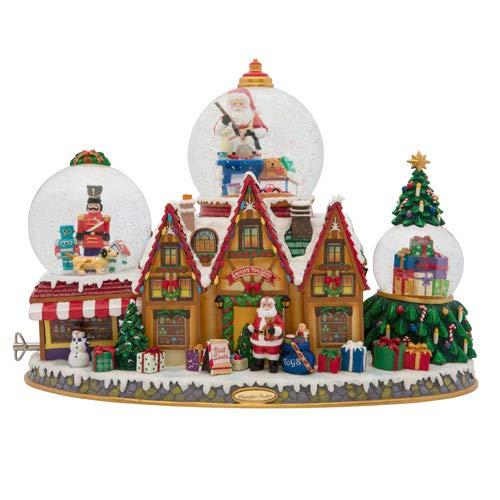 Christopher Radko Santa's Toy Shop Snowglobe