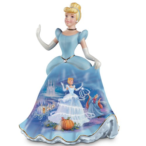 The Bradford Exchange Cinderella Porcelain Bell
