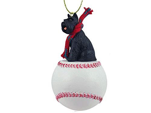 Conversation Concepts Schnauzer Black Baseball Ornament
