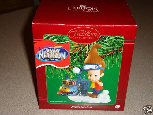 Jimmy Neutron Boy Genius 2002 Carlton Cards Christmas Ornament