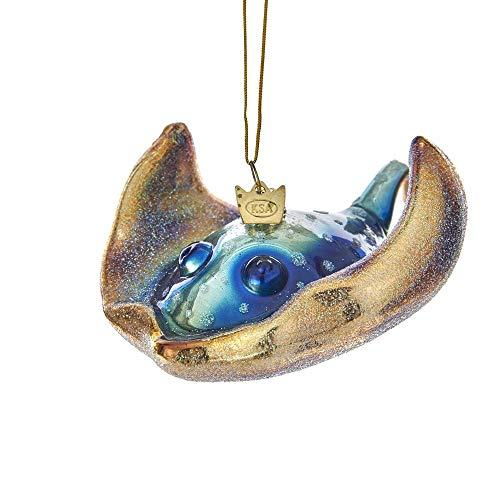 Kurt Adler Noble Gems Glass Sting Ray Ornament