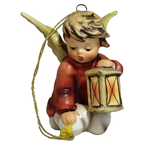 Hummel Figurine, 571 Angelic Guide Ornament, 3.5″ H