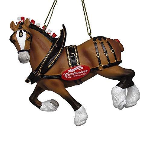 Kurt Adler 4.75″ Budweiser Clydesdale Horse Molded Ornament Standard