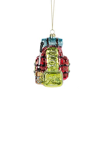 Midwest Novelty Glass Backpack Ornament