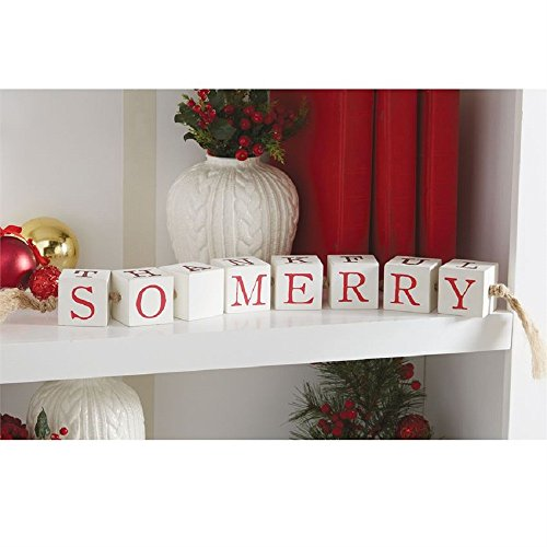 Mud Pie Multi Holiday Sentiment Blocks