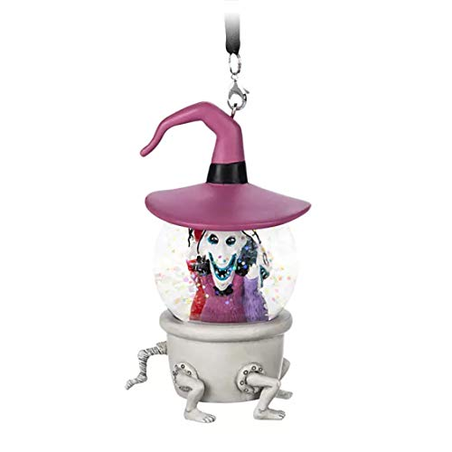 DP Disney Nightmare Before Christmas Lock,Shock,and Barrel Mini Snowglobe Ornament