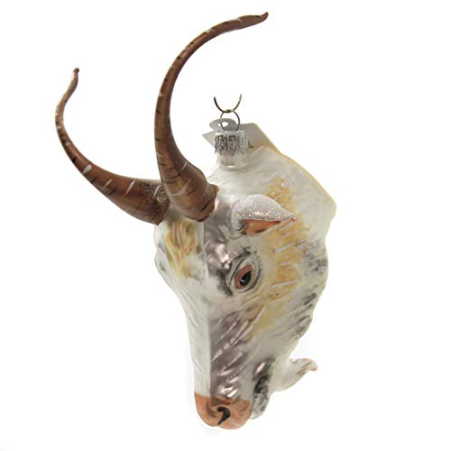 Christina's World Billy Goat Ornament Glass Male Farm Pet Zoo893