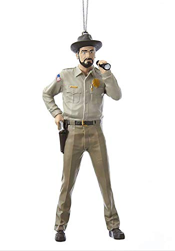 Kurt Adler Stranger Things Sheriff Hopper Ornament Standard