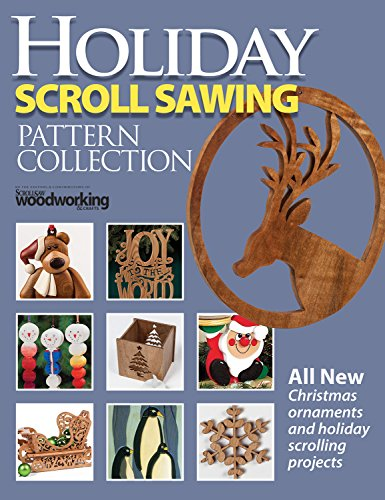Holiday Scroll Sawing Pattern Collection (Fox Chapel Publishing) All New Christmas Ornaments and Holiday Scrolling Projects