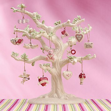 Valentine 12-piece Ornament Set by Lenox