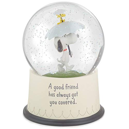 HMK Snoopy and Woodstock Good Friends Snow Globe