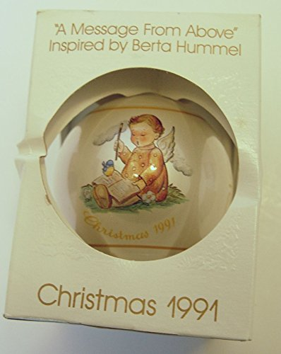 Schmid Hummel Christmas Ornament 1991 A Message From Above