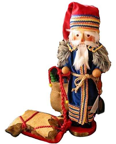 2004 Signed Herr Steinbach Scandinavian Santa Nutcracker, Retired, 11th Christmas Legends Series