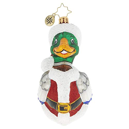 Christopher Radko Hand-Crafted European Glass Christmas Ornament, A Marvelous Mallard