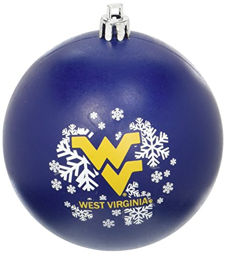 NCAA West Virginia Mountaineers Shatterproof Ball Ornament
