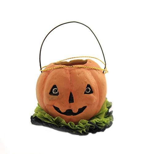Halloween Mini PALS Ornament Hand Painted Jack-O-Lantern Td8522 Pumpkin